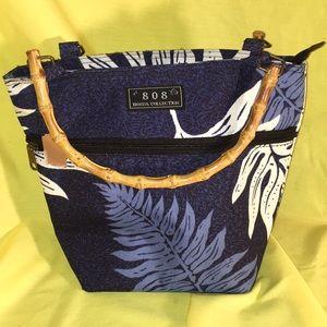 808 Honua Bags - TOTE bamboo handle bag